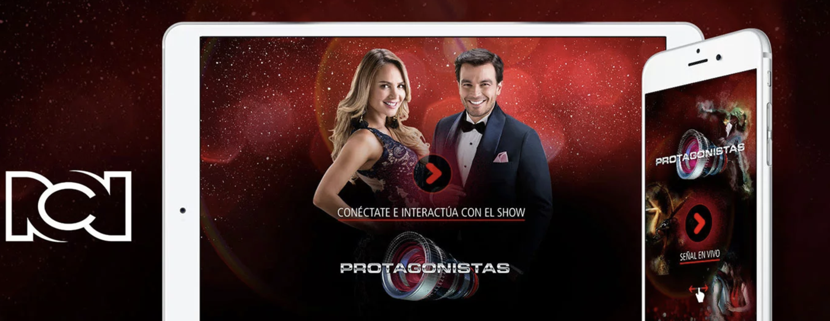 Protagonistas app for RCN | Applicaster