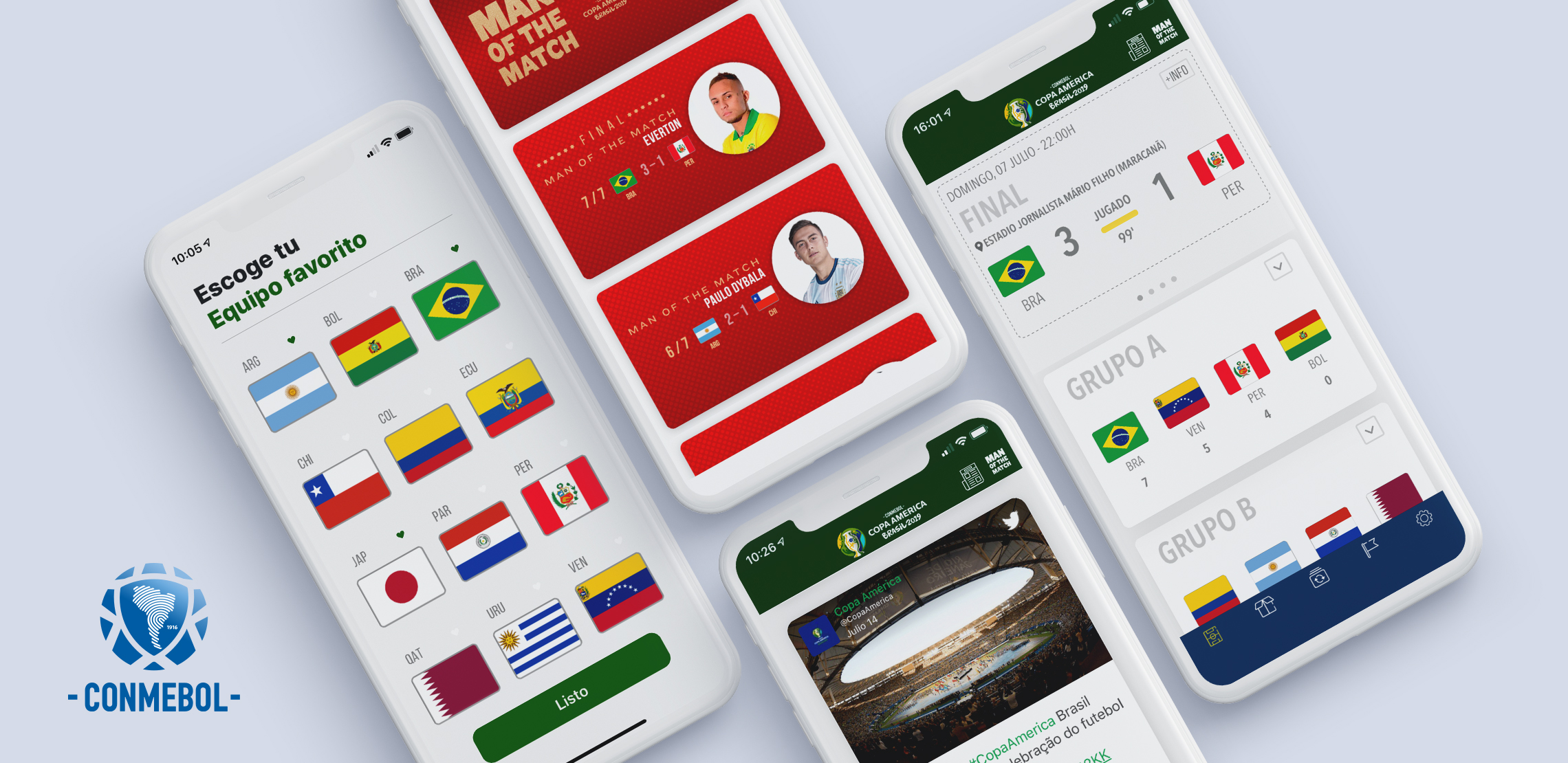 Conmebol copa america mobile Mockups_1